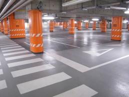 priemyselné podlahy parkovací dom