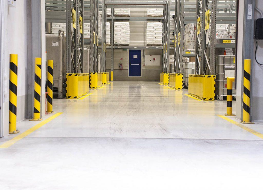bezškárová betónová podlaha