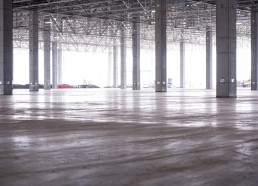 Volkswagen betónové podlahy