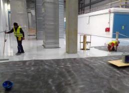 Bridgestone betónové podlahy
