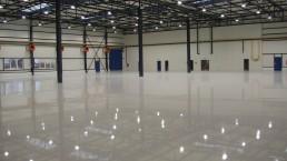 DNV park betónové podlahy