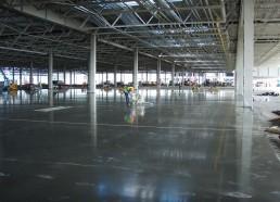 Hyundai betónové podlahy